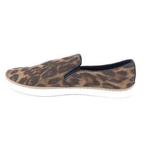 Women/'s Lilly Twin Gore Leopard Print Sneakers A New Day Size 11